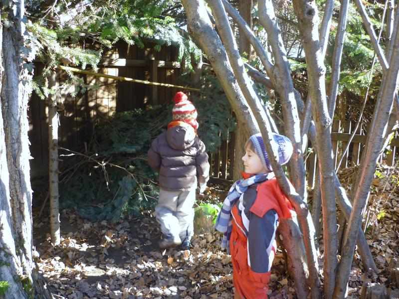 Foto: Kindergarten Aussenbereich